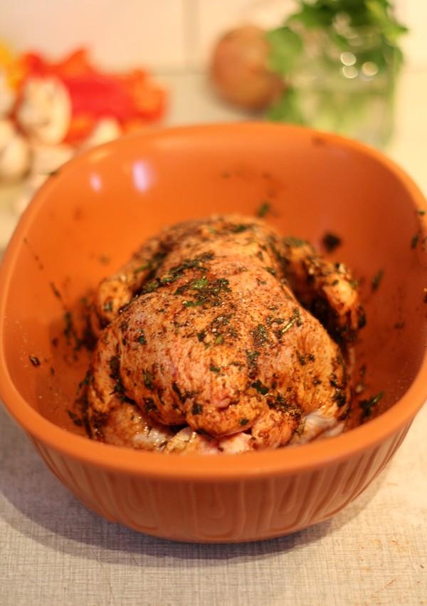 kyckling i lergryta 1