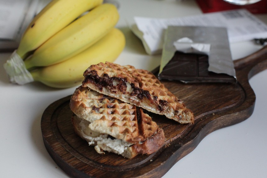 ricotta varm smörgås