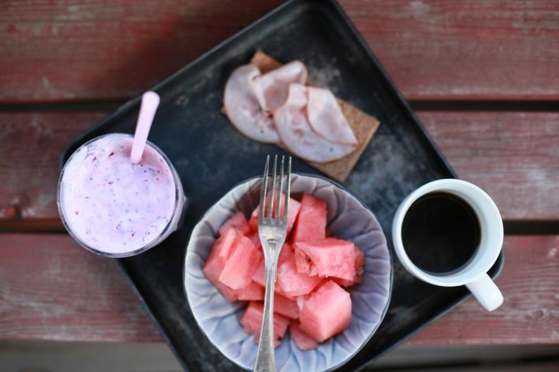 frukost vinbärssmoothie