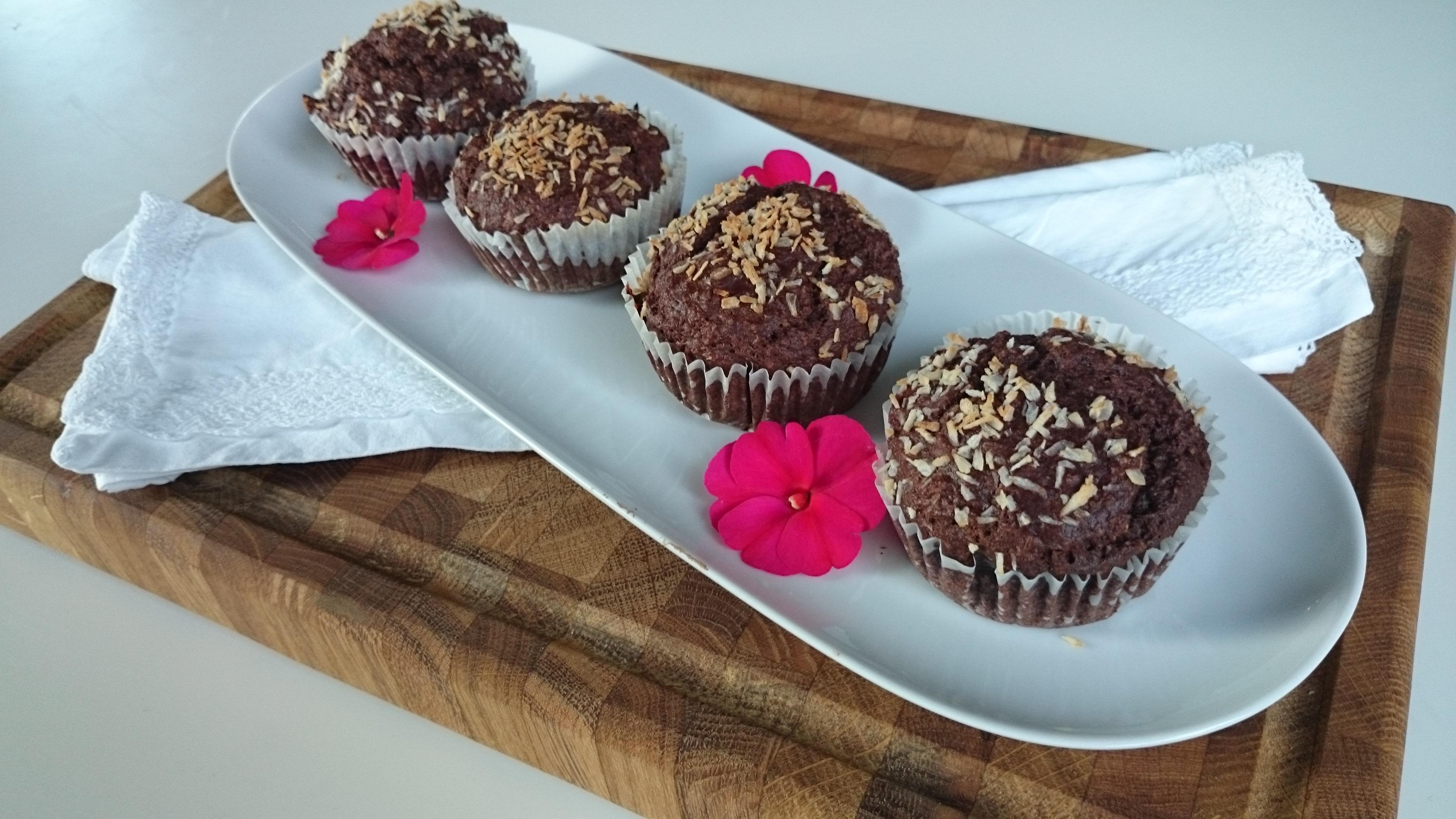 nyttiga bananmuffins med havregryn