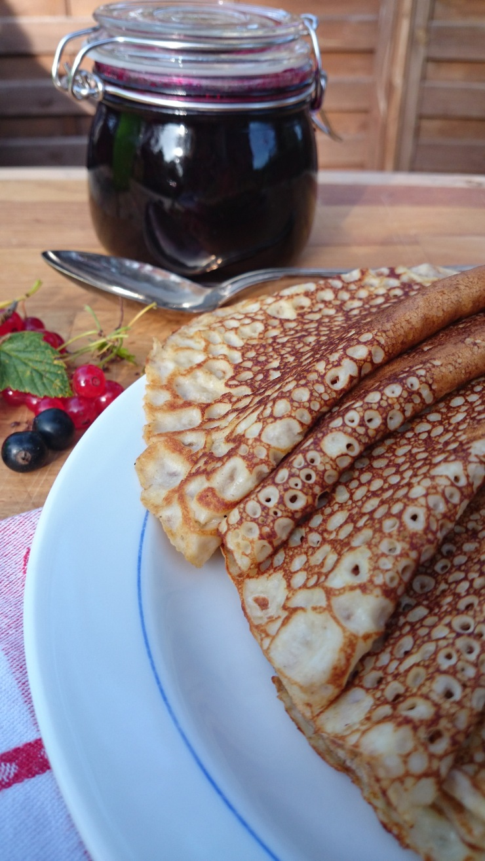 nyttiga pannkakor med quinoa och havre