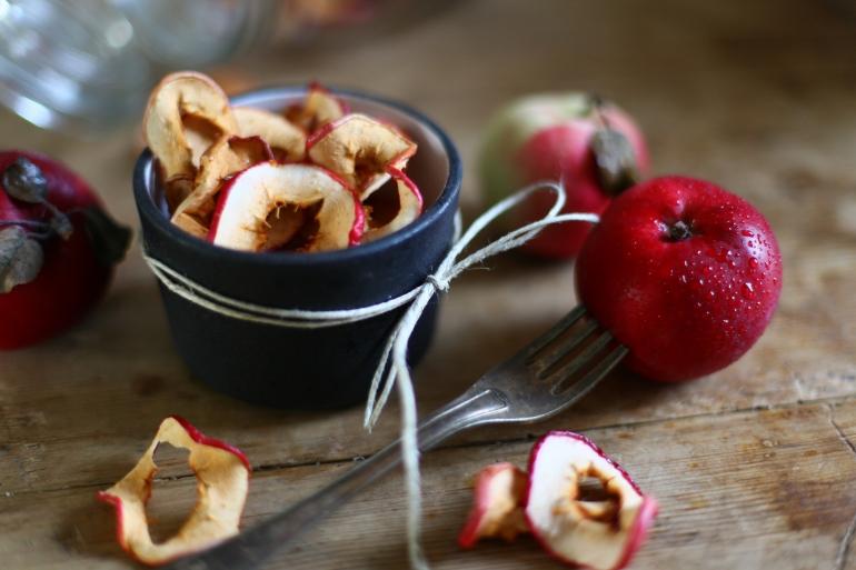 torkade äpplen matsmart Annica Långvall dietist
