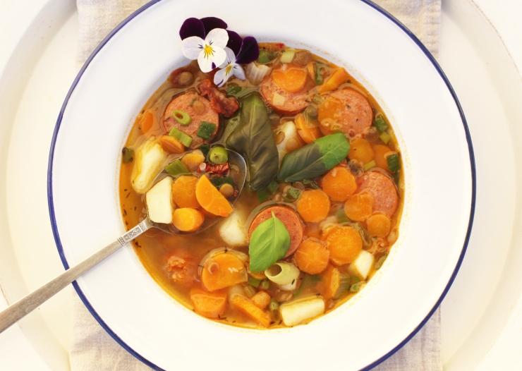 dietist recept blogg näringsberäknade recept mustig korvsoppa med linser