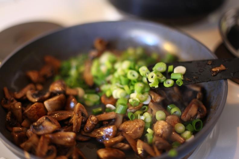 färsk pasta fetuccine med svamp vegetarisk pasta köttfrimåndag vegetarisk måndag dietist recept dietistblogg annica långvall matsmart
