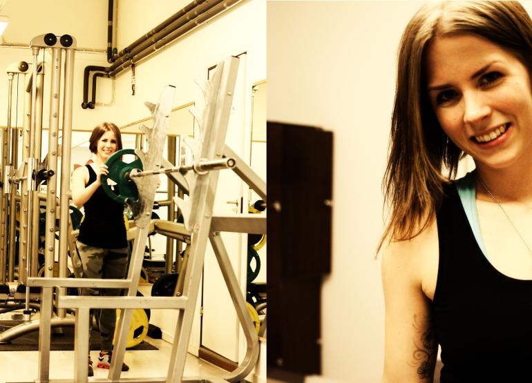 på gymmet annica dietist matsmart gym24 krokom