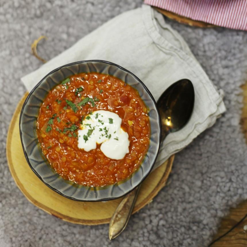 röd linssoppa med thainländsk curry 2