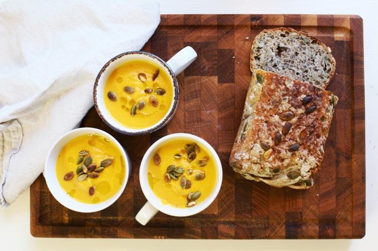 morotssoppa med ingefära 3