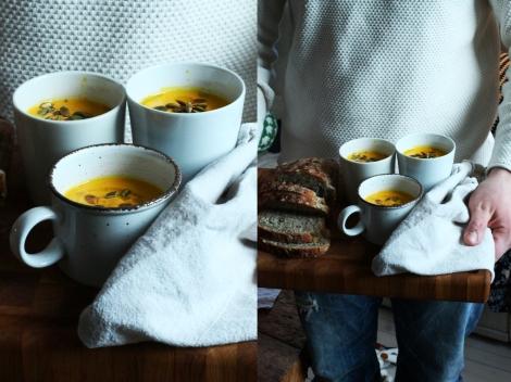 morotssoppa med ingefära i kopp 2