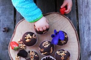 black bean brownie muffins 11