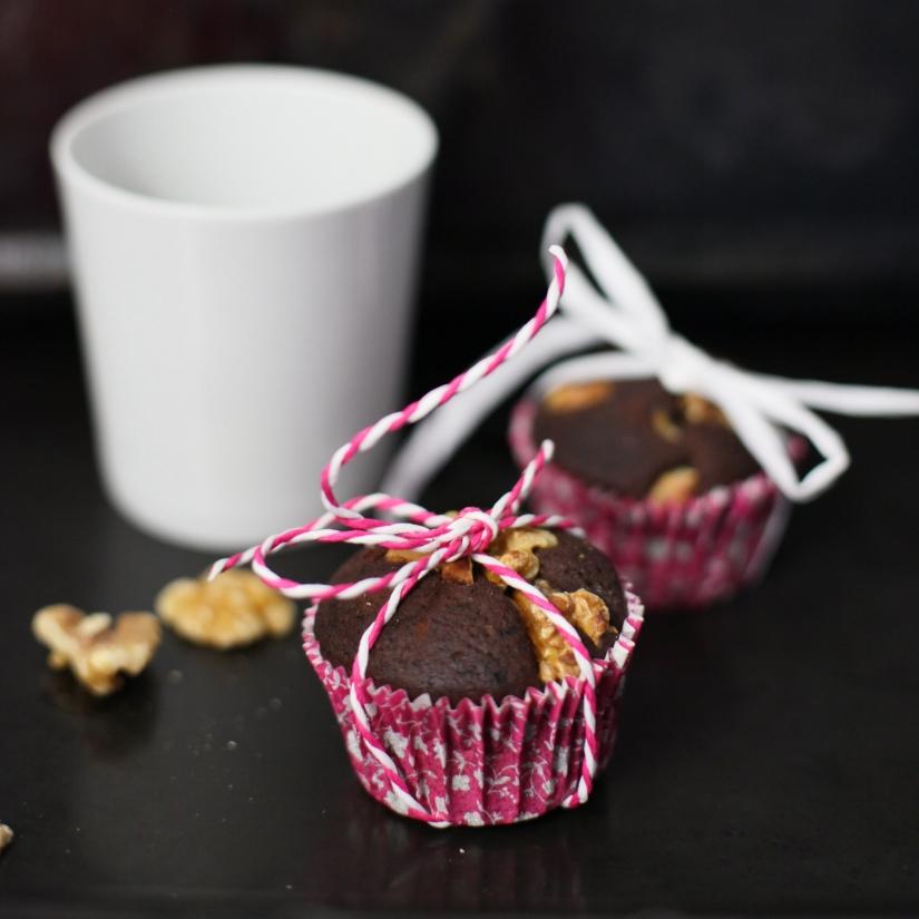 black bean brownie muffins chokladmuffins med svarta bönor
