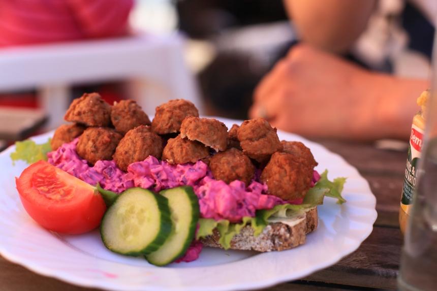 Café Maffen 8 köttbullsmacka