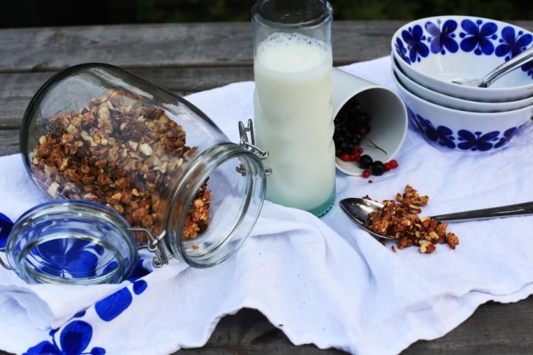 hemgjord crunchy granola 4
