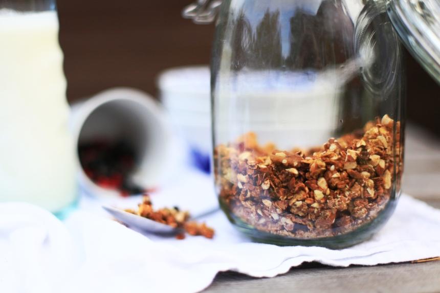 krispig hemgjord granola 1