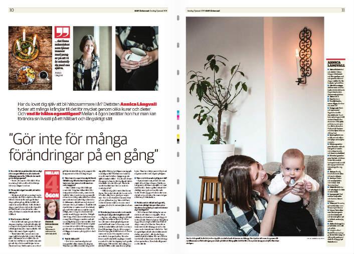 Annica Långvall och Viggo i 100 % östersund