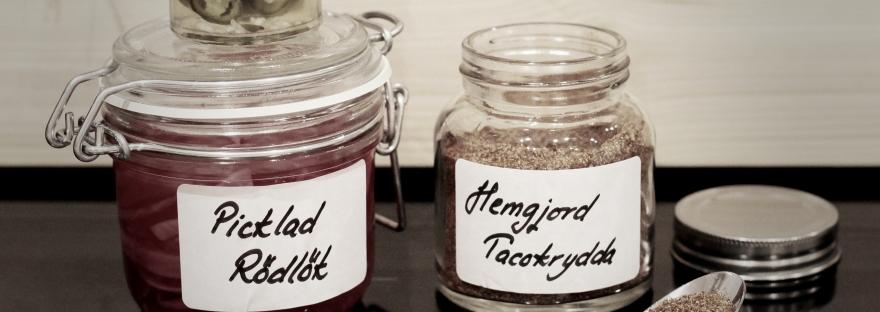 Recept på hemgjord tacokrydda