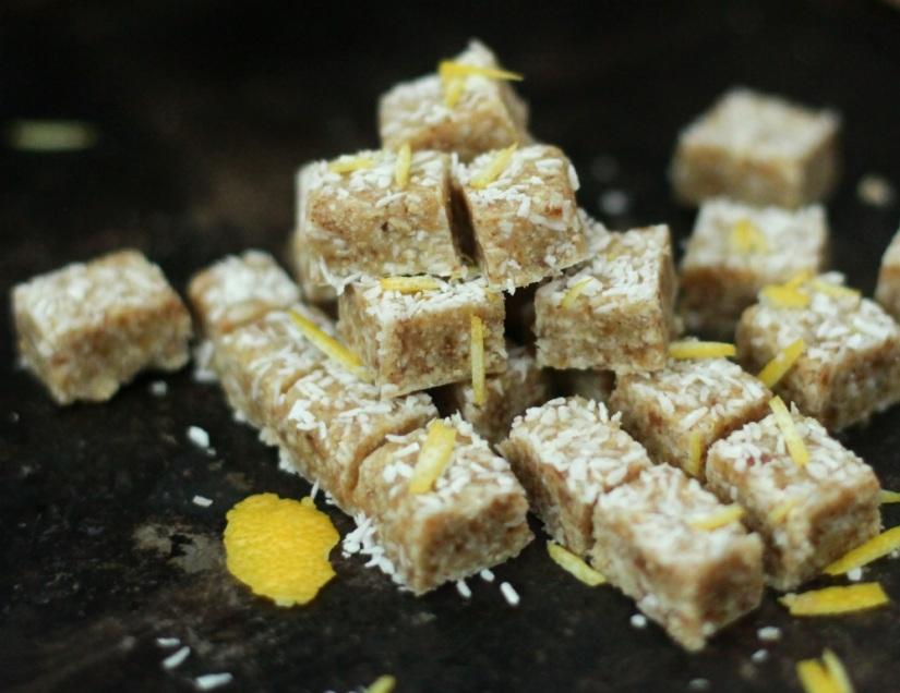 raw nötfudge med kokos och citron dietistannica 3