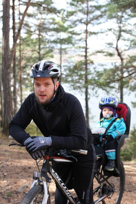 utflykt till flottsbro cykel