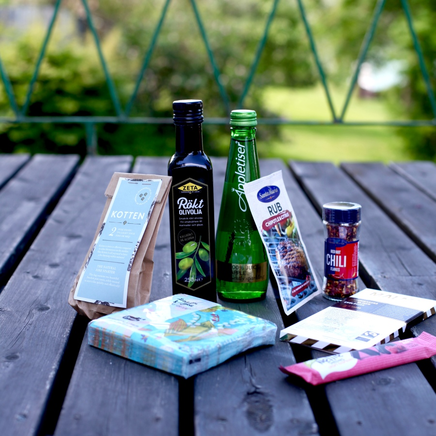 recension smakbox dietistannicas favoriter äppletisrr malö chokladfabrik rub rökt olivolja chiliflakes