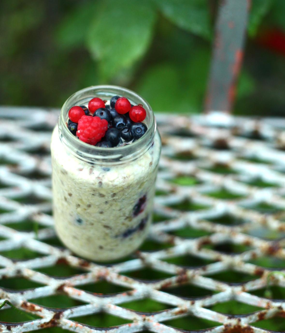 kylskåpsgröt overnight oats