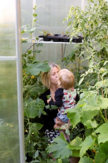 dietistblogg miljö blogg hälsa växthus odla