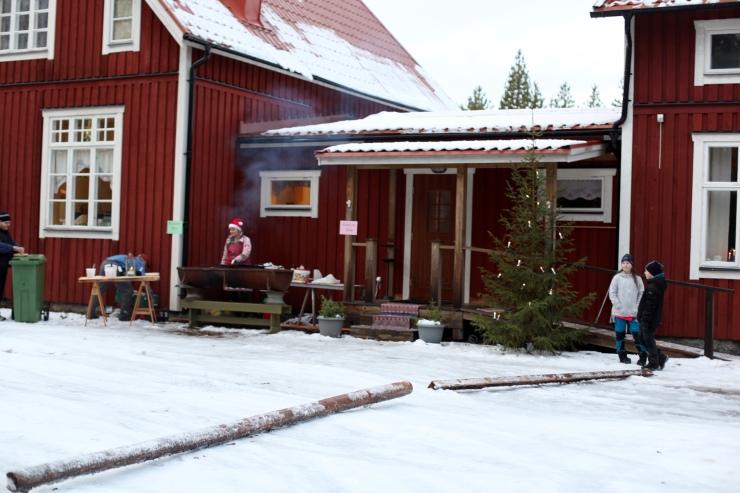 rörströmsäldens fiske och vildmarksvamp julmarknad